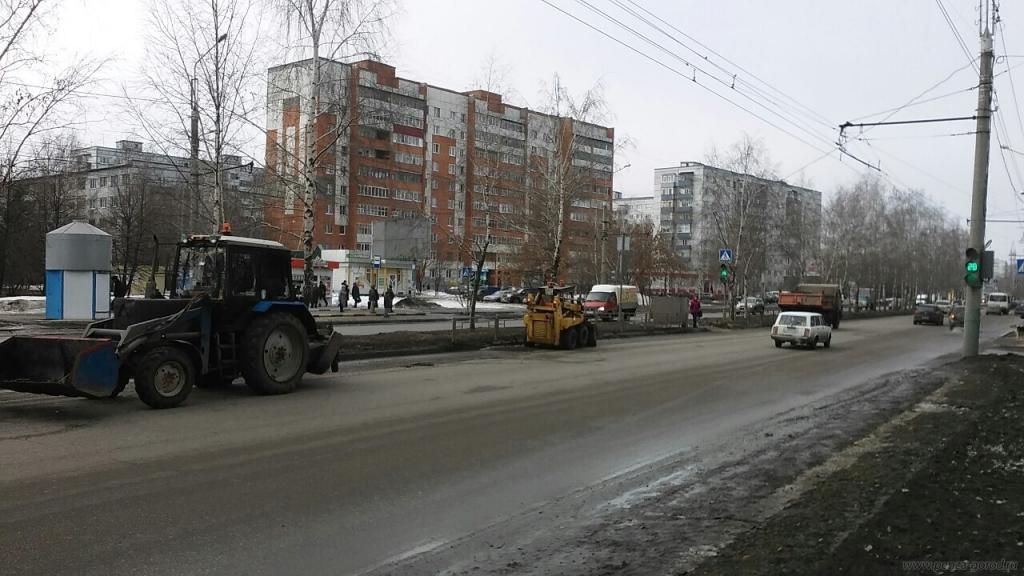 ВПензе 9марта дороги латают на 6-ти дорогах