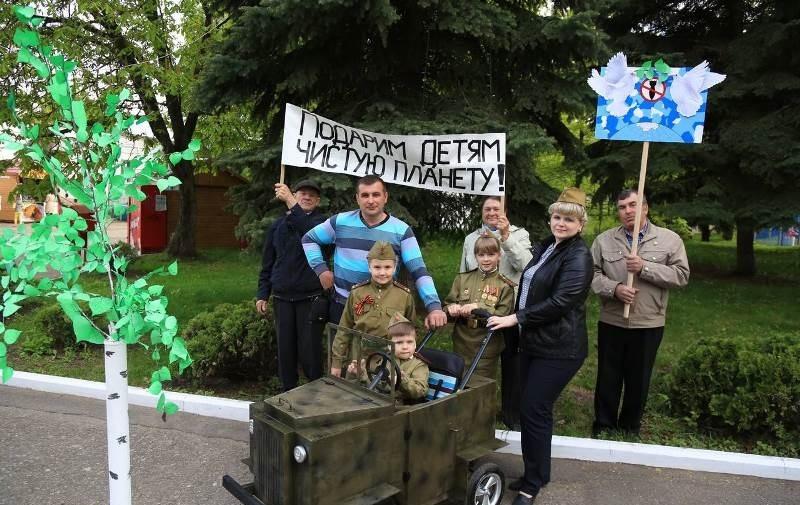 1-ый канал снял репортаж про «Парад детских колясок» вПензе
