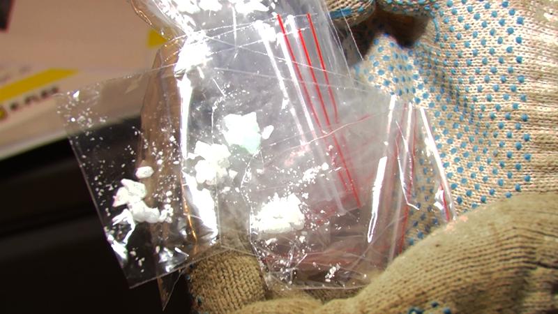 У27-летнего пензенца отыскали  500 граммов наркотиков