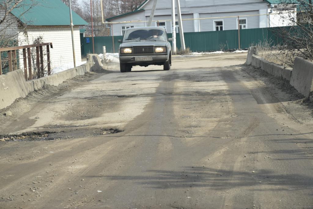 Дорогу впоселок Победа мэр Пензы поручил привести впорядок