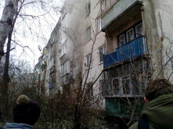 ВПензе наулице Карпинского сгорела квартира, пострадала женщина