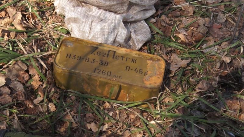 Впензенском лесу найден тайник сбоевым гранатометом