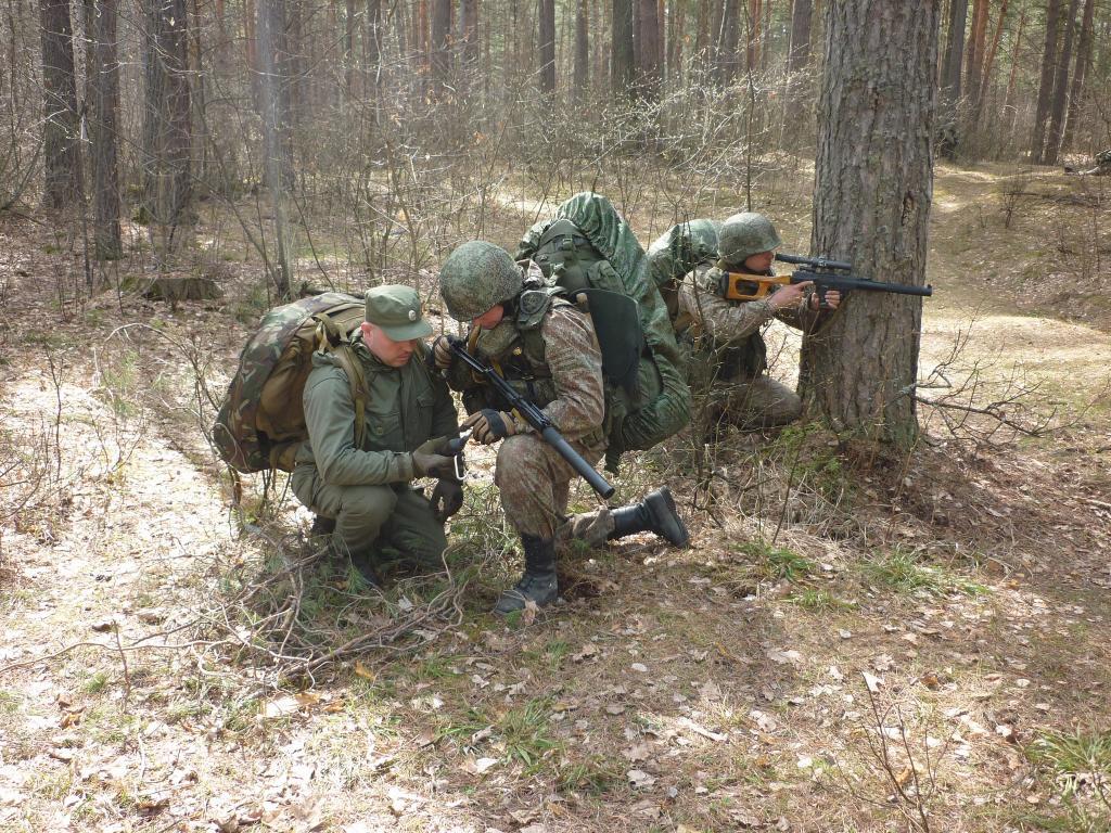 ВПензенской области бойцы спецназа десять суток провели вполевых условиях