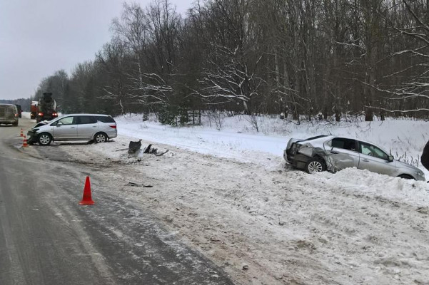 Под Рассказово супруга водителя погибла вДТП