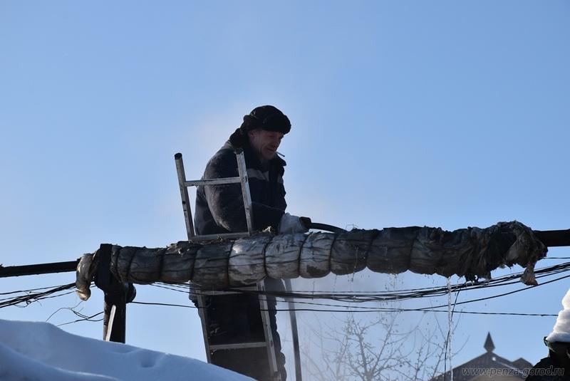 ВПензе без тепла остается 9 жилых домов