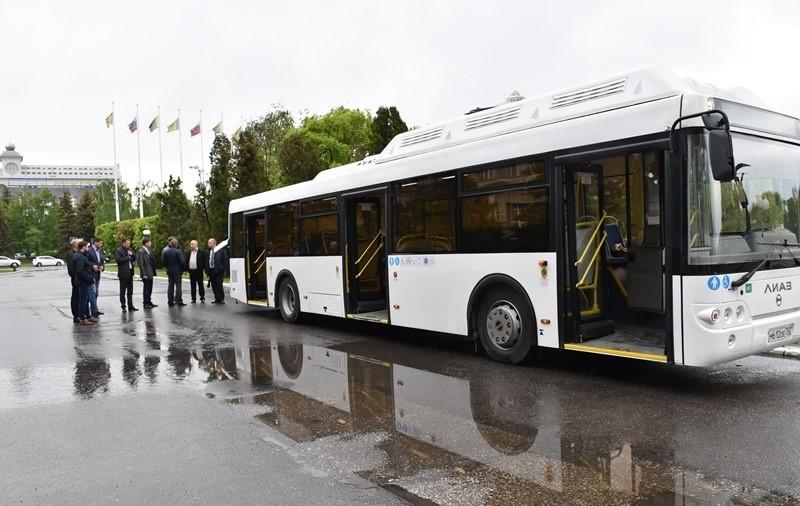Пробный газомоторный автобус будет пущен помаршруту №54
