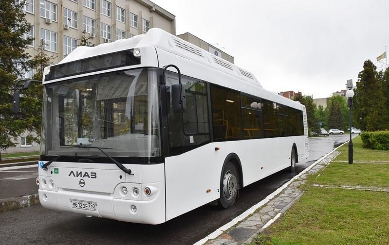 ВПензе презентовали автобус нагазомоторном горючем