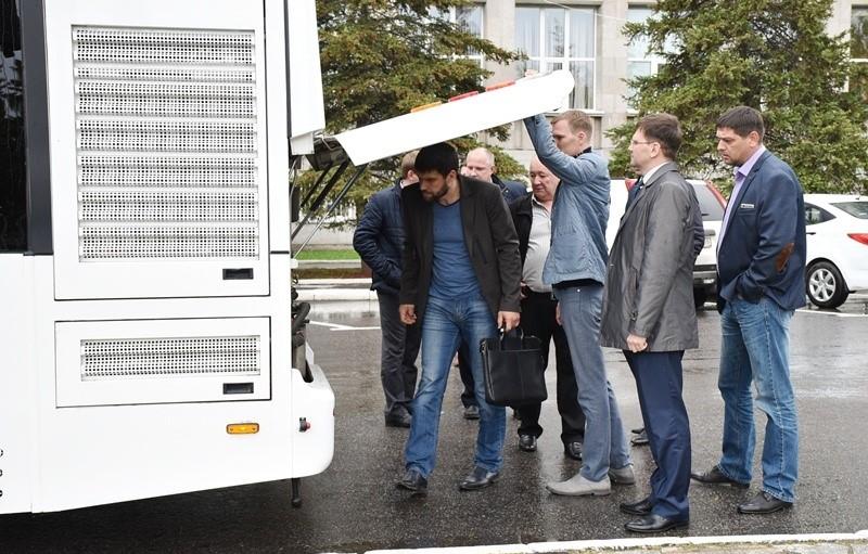 ВПензе презентовали экспериментальный автобус