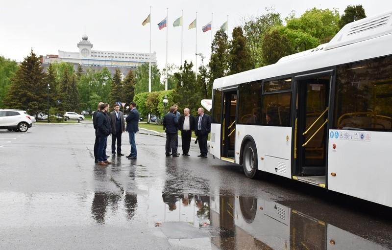 Напензенский маршрут №54 поставят экспериментальный автобус будущего
