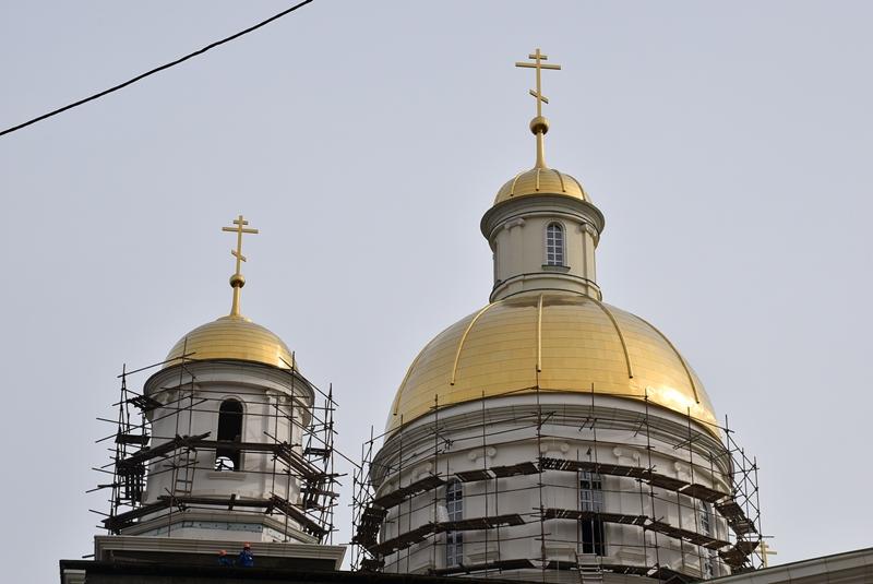 И. Белозерцев поручил срочно организовать внутреннюю отделку Спасского храма