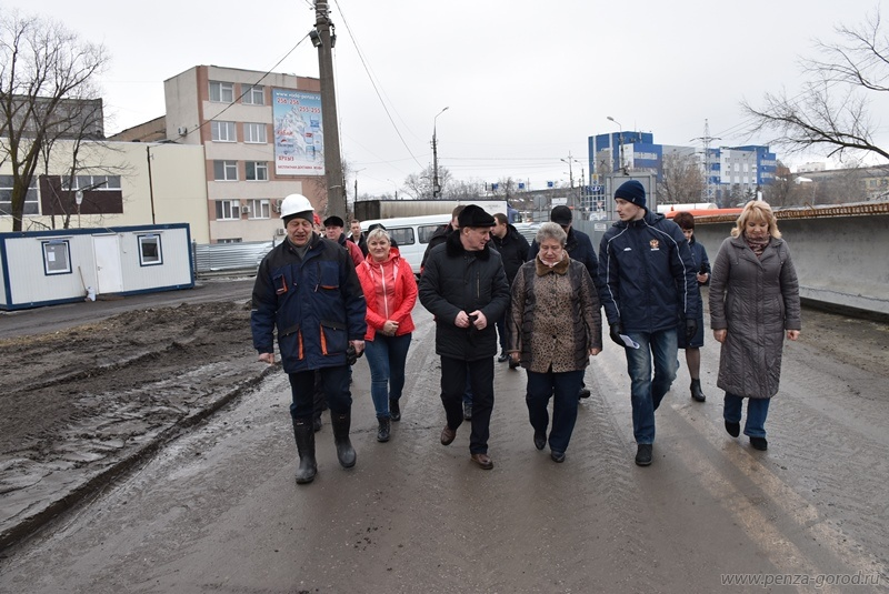 Ремонт Свердловского моста вПензе ведется без отставания отграфика