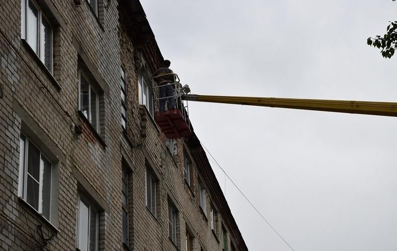 ВПензе наУдарной начал рушится очередной дом