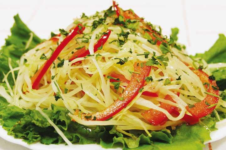Салат свежий на зиму